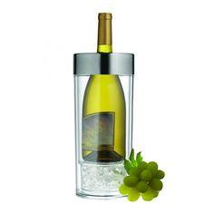 Wine on Ice Wine Chiller Linen Chest Kitchen And Bath, Kitchen Dining, Water Into Wine, Wine Chiller, Stylish Kitchen, Wine Cheese, Backyard Bbq, Wine Drinks, Kitchen Gadgets