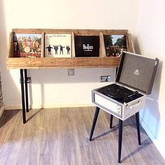 vinyl record storage record stand record holder book stand