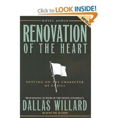 Brilliant, succinct depiction of the basics of spiritual formation by leading Christian philosopher Dallas Willard.