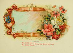 vintage cigar labels | stock-graphics-vintage-cigar-box-labels-0083 | Viintage Stock Graphics