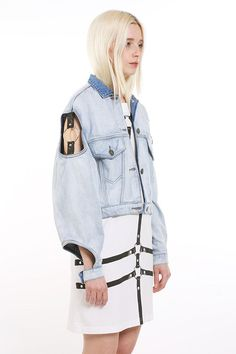 Harnessed Punk Outerwear