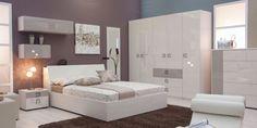 Bed Headboard Design, Bedroom Bed Design, Headboards For Beds, Bedroom Sets, Bedroom Decor, Bedroom Furniture For Sale, Home Furniture, Stylish Bedroom, Modern Bedroom