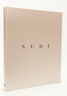 "photobook ""Nudi"" by Paolo Roversi"
