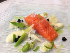 Confit Ocean Trout with Cauliflower Puree - Chef's Pencil