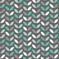 Jacqueline Savage Mcfee - Mint Condition - Leaves in Multi - http://www.hawthornethreads.com/fabric/designer/jacqueline_savage_mcfee/mint_condition/leaves_in_multi
