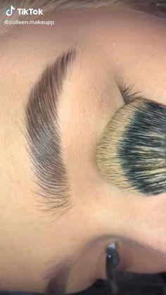 Pink Eye Makeup, Eye Makeup Art, Eyebrow Makeup, Makeup Inspo, Eyeshadow Makeup, Denitslava Makeup, Makeup Looks Tutorial, Smokey Eye Makeup Tutorial, Halloween Eye Makeup