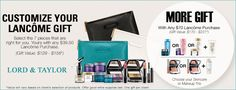 Visit L&T or shop online and receive these free Lancome products + your choice of a cosmetics bag. http://cliniquebonus.org/lancome-gift-with-purchase/
