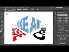 (3) How to Apply Text to the Perspective Grid in Adobe Illustrator - YouTube
