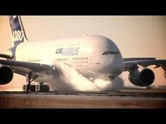 Airbus A380 Lucky Pilot Plane Skidding - YouTube