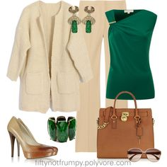 The Color of the Year is Emerald Green by fiftynotfrumpy on Polyvore