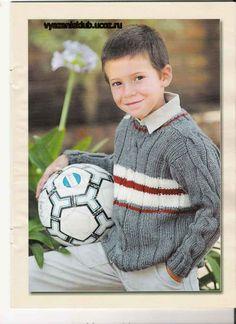 Кофта - Для мальчиков - Каталог файлов - Вязание для детей