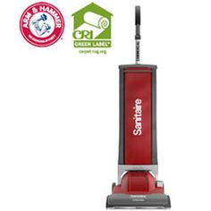 The lead brand for families with allergies. Sanitaire SC9050 DuraLite Upright Vacuum Cleaner.