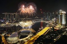 As the clock strikes midnight around the world, people celebrate the beginning of the new year