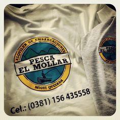 #diseño #estampado #serigrafia #pesca #elmollar #tucuman