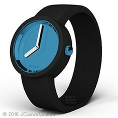O clock watch - mirror teal with black strap O Bag, Oclock, Beats Headphones, Fashion Bags, Jewelry Accessories, Teal, Watches, Mirror, Style