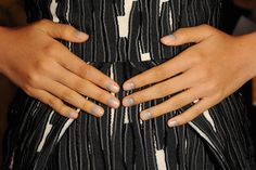 Nail Art Is Still Happening With the Moon Manicure For Spring