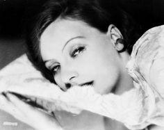 La Belle Otéro — Greta Garbo photographed by Ruth Harriet Louise...