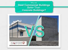 Why are Steel Commercial Buildings Better Than Concrete Buildings? Metal Building Kits, Big Building, Concrete Building, Building Design, Metal Storage Buildings, Metal Garages, Steel Buildings, Steel Barns, Walt Disney Concert Hall