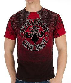 Affliction Vertical T-Shirt #buckle #fashion #affliction www.buckle.com