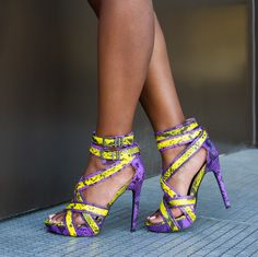 Love purple and yellow!!! Great for spring!!!