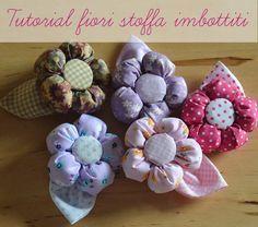 Realizzare questi #fiori di #stoffa è davvero molto facile. Guardate subito il tutorial passo dopo passo!  http://ideecreativeinbottega.it/portfolio/tutorial-fiori-di-stoffa-imbottiti/