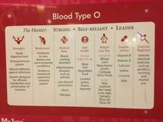 people with bloodtype O are very special but the reason might surprise you