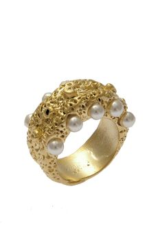 chrishabana pearl ring