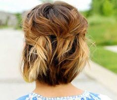 25  Cute And Easy Hairstyles For Short Hair | http://www.short-haircut.com/25-cute-and-easy-hairstyles-for-short-hair.html