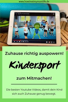 Kindersport für Zuhause - so powert sich dein Kind Zuhause aus - HOW I MET MY MOMLIFE Power at home, despite rainy weather or during the corona quarantine! We achieve this with great children's sp Movement Songs, Diy Y Manualidades, Baby Words, Sports Activities, Family Activities, Kids Corner, Kids Sports, Games For Kids, Kids And Parenting
