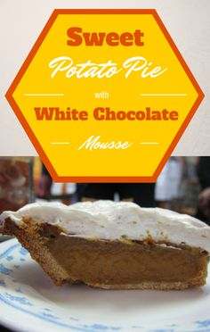 Actress Kate Walsh helped Carla Hall make Sweet Potato Pie with White Chocolate Mousse durng a holiday-themed episode of The Chew.