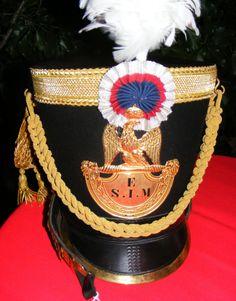 Shako d'officier de saint cyr, epoque empire