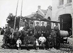 Parque de bomberos de Santa Engracia. Chamberí 1920.