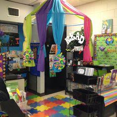 My reading center area.