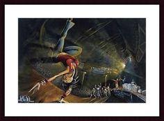 B-Girl by David Garibaldi Framed Painting Print