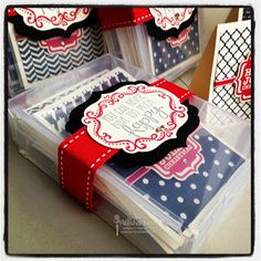 Teacher Gift - Wood Mount Cases from Stampin' Up! - love these cute cards by my friend Alisha Linn