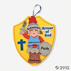 """Armor Of God"" Craft Kit, Decoration Crafts, Craft Kits & Projects, Craft & Hobby Supplies - Oriental Trading"