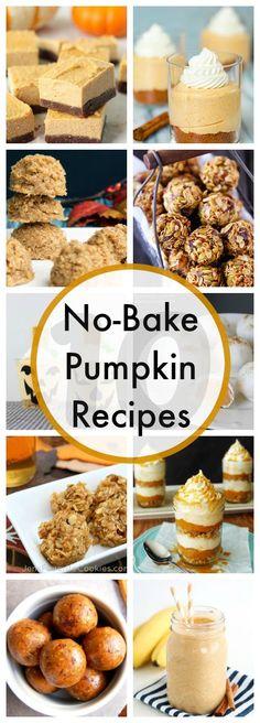10 No-Bake Pumpkin Recipes - www.classyclutter.net