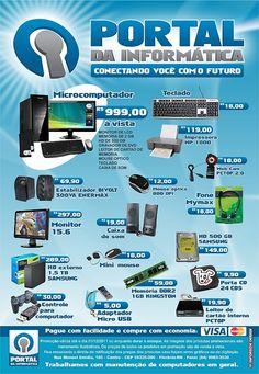 Folder do Portal da Informática - 2011 - Florânia-RN