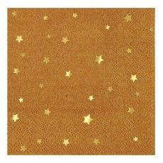 Stars Paper Napkins - Set of 16