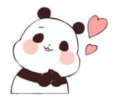 Yururin Panda ver.2 stickers! Panda Wallpapers, Cute Wallpapers, Panda Kawaii, Baby Hamster, Emoticon, Emoji, Chibi Cat, Cute Panda Wallpaper, Panda Love