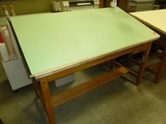 Delicieux Commercial Drafting Table. I Used One Just Like This When I Was The  Draftsman At US Metal Works In Liberty, MS. | Memories Of My Life |  Pinterest | Tables, ...
