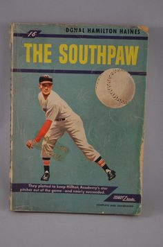 Vintage Paperback Book The Southpaw Donal by FloridaFinders, $5.00