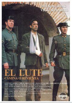 1987 - El Lute camina o revienta - tt0093458 Cinema Movies, Love Messages, Nostalgia, 1, Photo And Video, Film, Youtube, Movie Posters, Festivals