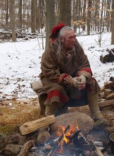 Maple sap, sugaring by American Indians