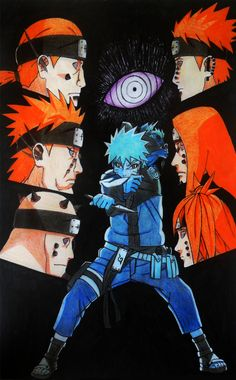 Naruto and the path of the six pains