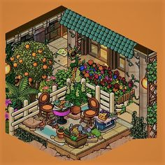 #Habbo #Build #Virtual #Pixel Habbo Hotel, House Illustration, Model Homes, Art Tutorials, Animal Crossing, Pixel Art, Building A House, House Design, House Styles