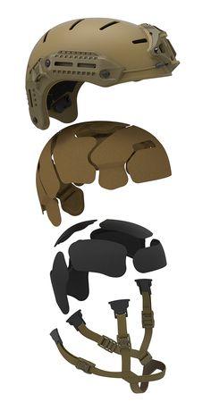 FLUX Helmet Fluxliner suspension and retention
