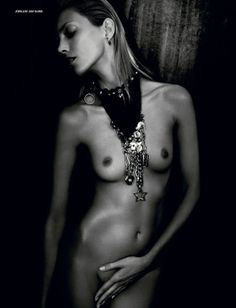 Anja Rubik by Paolo Roversi for i-D Magazine Summer 2014 1
