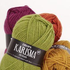 Mostruário de cores para o DROPS Karisma ~ DROPS Design