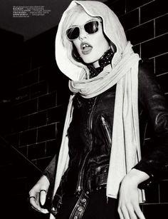 Ashley Smith by Ellen von Unwerth for Vogue